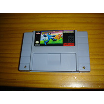 Snes Super Nintendo Megaman Soccer Original Raro