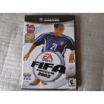 Fifa Soccer 2003 Original Na Caixa & Manual Para Game Cube