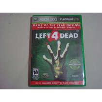 Xbox 360 - Left 4 Dead - Game Of The Year Edition