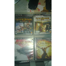 Saga Série Completa God Of War Ps3 Playstation 3 Black Label