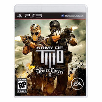 Army Of Two The Devils Cartel Ps3 Lacrado Pronta Entrega
