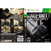 Call Of Duty Black Ops 2 - Xbox 360(original)mídia Física Br