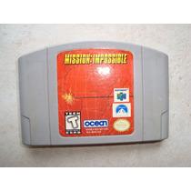 Cartucho P/ Nintendo 64 -mission Impossible -