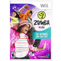 Jogo Zumba Kids Para Nintendo Wii (nwii) - Majesco