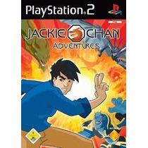 Jackie Chan Adventures Ps2 Patch Com Capa E Impressão