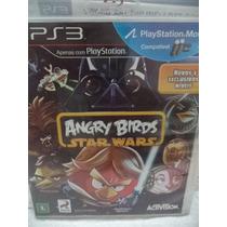 Ps3 - Angry Birds Star Wars - Midia Perfeita