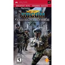 Jogo Socom U.s. Navy Seals Tactical Strike - Psp - Original
