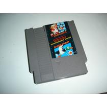 Nintendo Nintendinho Nes Mario Bros/duck Hunt Original!