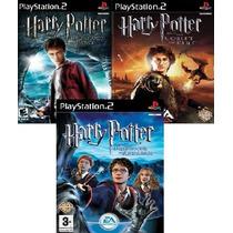 Harry Potter Ps2 Patch (kit C/ 3 Jogos) Frete Grátis