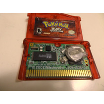 Game Pokémon Ruby Original Com Bateria Nova