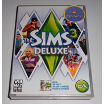 The Sims 3 Deluxe Simulação De Pessoas Jogo Pc Original