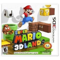 Super Mario 3d Land Nintendo 3ds Original Lacrado