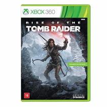 Rise Of The Tomb Raider Xbox 360 Em Português Mídia Física
