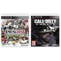 Pes 2014 + Call Of Duty Ghost Ps3