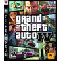 Jogo - Ps3 - Grand Theft Auto Iv - Gta 4 - Novo