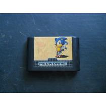 Jogo Para Mega Drive - Sonic The Hedgehog