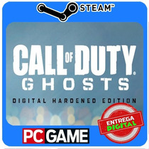 Call Of Duty Ghosts Digital Hardened Edition Pc Steam Cd-key
