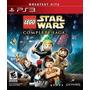 Lego Star Wars Saga Completa Ps3 Frete Cr Grátis Lacrado
