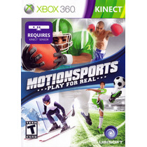Motion Sports Kinect Xbox 360 - Pronta Entrega!
