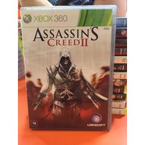Jogo Assassins Creed Ii Xbox 360 Original Mídia Física