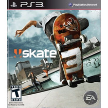 Skate 3 Playstation Ps3 - Sk8 Lacrado - Mídia Física