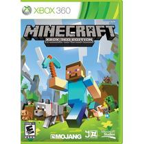 Minecraft Xbox 360 Edition , Mídia Física (lacrado, Novo)