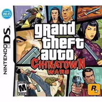 Grand Theft Auto: Chinatown Wars Ds Americano Raro Lacrado