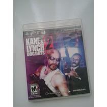 Jogo Kane & Lynch 2 Dog Days Sony Playstation 3 Ps3