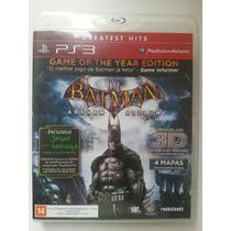 Batman Arkham Asylum 3d Game Of The Year Edition Ps3.