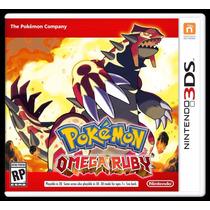 Jogo Pokemon Omega Ruby Rubi Nintendo 3ds - Pronta Entrega