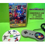 Controle Usb Para Pc + 1000 De Mega Drive