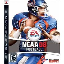 Jogo Novo Ea Sports Ncaa Football 08 Para Playstation 3 Ps3