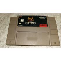 Mortal Kombat 3 100% Original P/ Super Nintendo