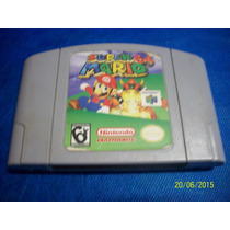 Linda Super Mario 64 Original Nintendo 64 Testada Fotos!!