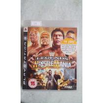 Jogo Sony Ps3 Legends Of Wrestle Mania Original