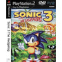 Sonic 3 The Hedgehog - Playstation 2 - Frete Gratis.