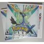 Pokemon X Nintendo 3ds - Novo Lacrado Americano