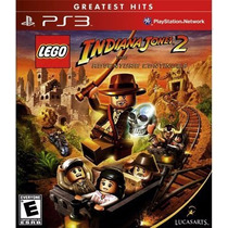 Jogo Lego Indiana Jones 2 Para Ps3 /semi Novo/barato!