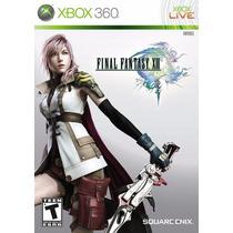 Jogo Final Fantasy Xiii Xbox 360 Original Lacrado A5430