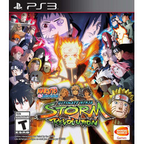 Naruto Shippuden Ultimate Ninja Storm Revolut Ps3 Digital Mg