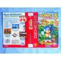 Encarte Sonic 3 - Original - Genesis - 1994