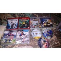 Lote De Jogos Ps3 - Lote De Jogos Playstation 3 - Gta 5 Etc