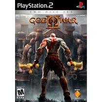 God Of War 2 Legendado Ps2 Patch Disco Impresso