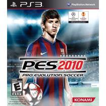 Pro Evolution Soccer 2010 Ps3 Jogo Frete Grátis Pes10