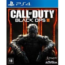 Call Of Duty:black Ops Iii Ps4 Primária Original Em Pt/br