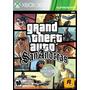 Gta San Andreas Grand Theft Auto Xbox 360 Mídia Física
