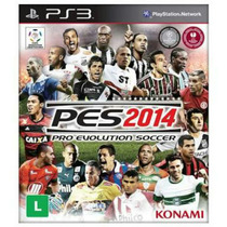 Ps3 - Pro Evolution Soccer 2014 - Pes 14