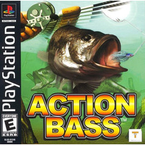Action Bass Pescaria Jogo Playstation 1 - Psx - Frete Gratis