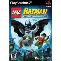 Lego Batman The Video Game Ps2 Patch - Frete Grátis