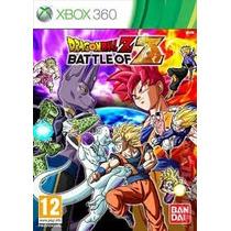 Xbox 360 - Dragon Ball Z Battle Of Z - Míd Fís - Original
